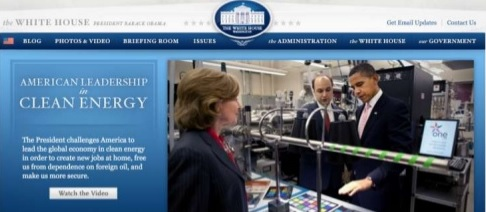 White House on Drupal