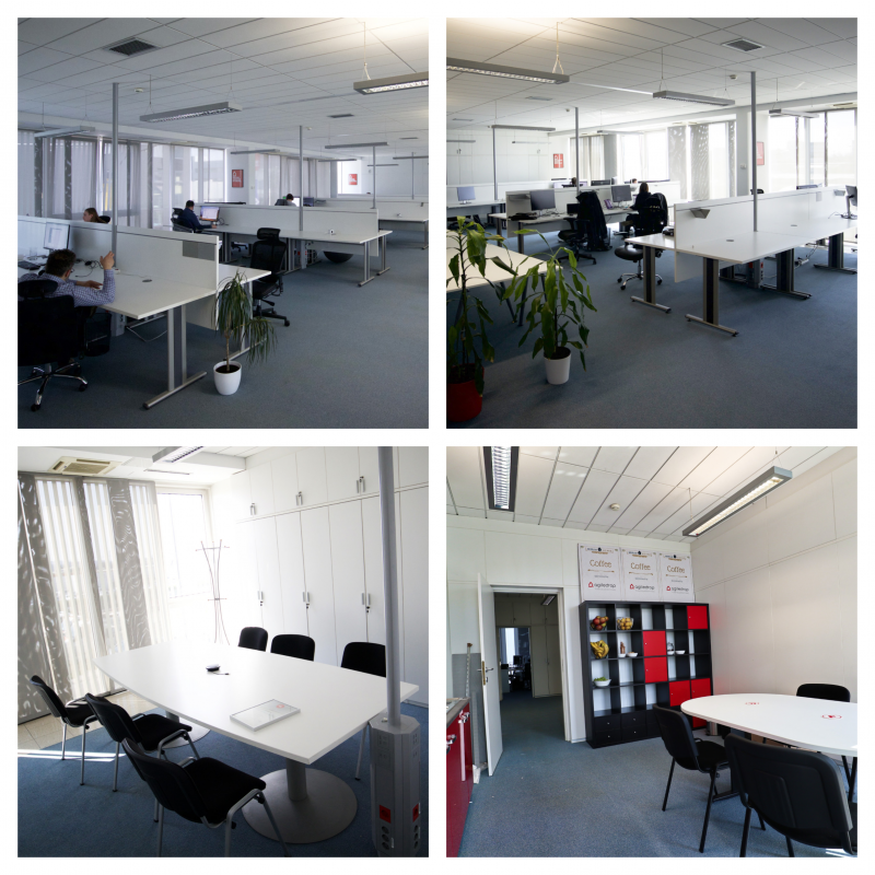 New LJ office - collage of 4 photos